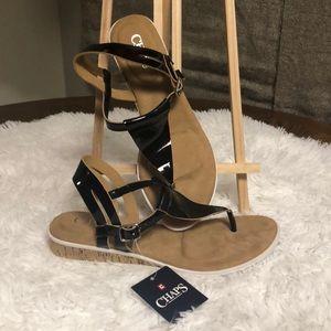 Chaps buckle Sandals